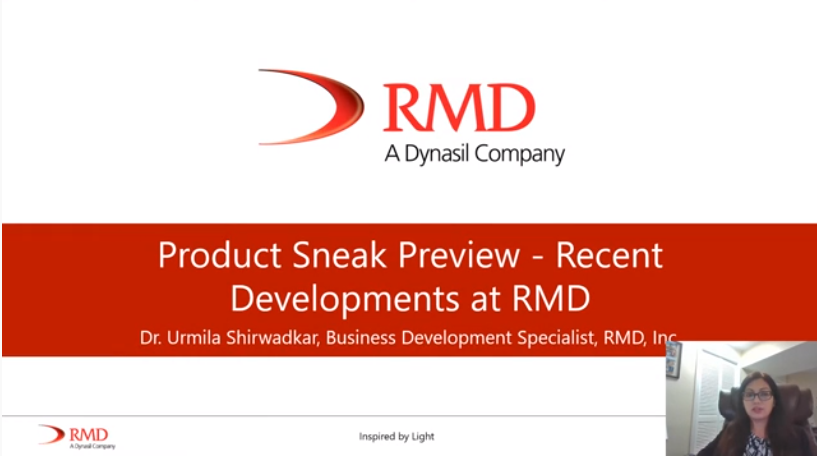 RMD Product Sneak Preview