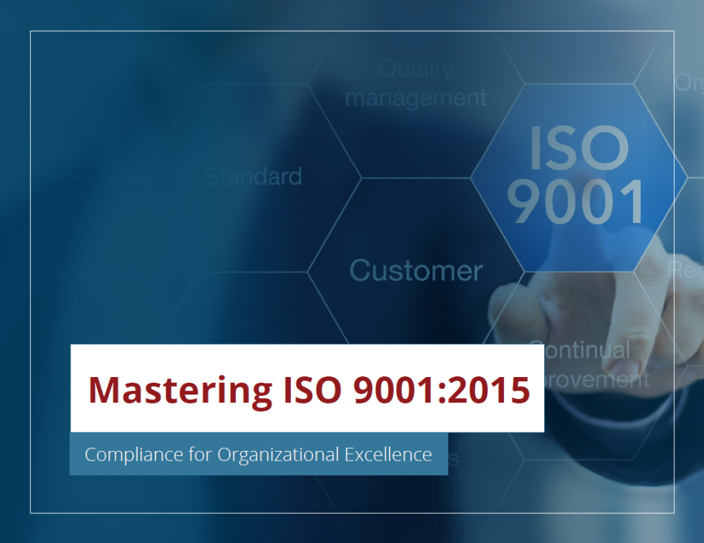 Mastering ISO 9001:2015 Compliance eBook
